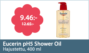 Eucerin pH5 Shower Oil, hajustettu, 400 ml