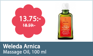Weleda Arnica Massage Oil, 100 ml