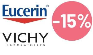 Eucerin ja Vichy tarjous